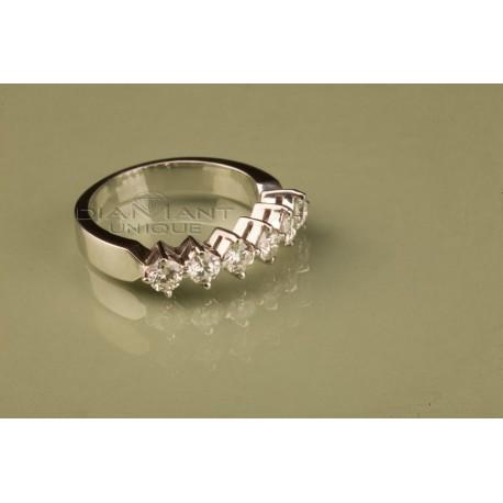 check-out 569df 2dad6 Bague mariage Demi Alliance pour femmes, vente bijoux à Casablanca