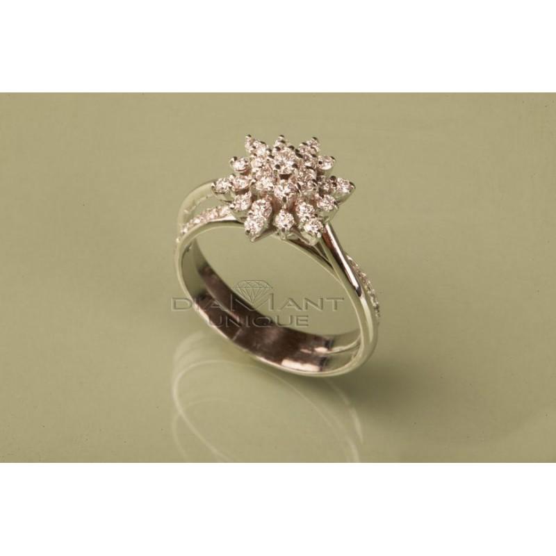Bague mariage Marguerite femmes, vente en ligne des bijoux diamant