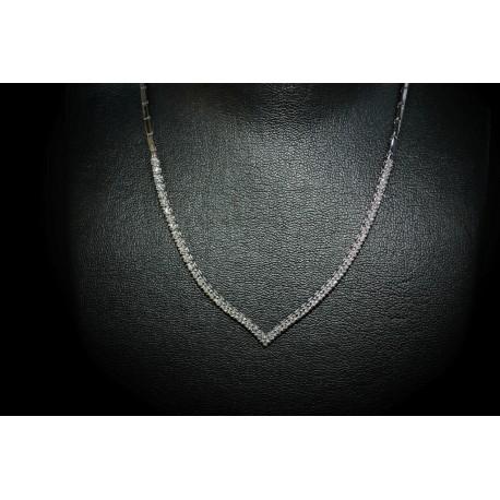 Très Collier Ras du Cou Diamants chez notre bijouterie à Fès - Maroc FH08