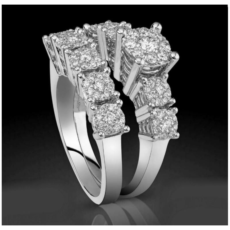 Favori Bague Mariage solitaire alliance chez Diamant Unique à Fès - Maroc YJ27