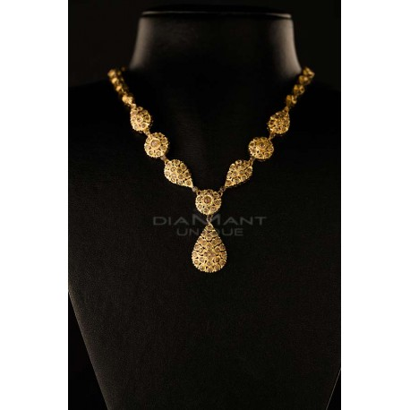 collier d'or femme maroc