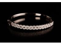 Bracelet diamant rose