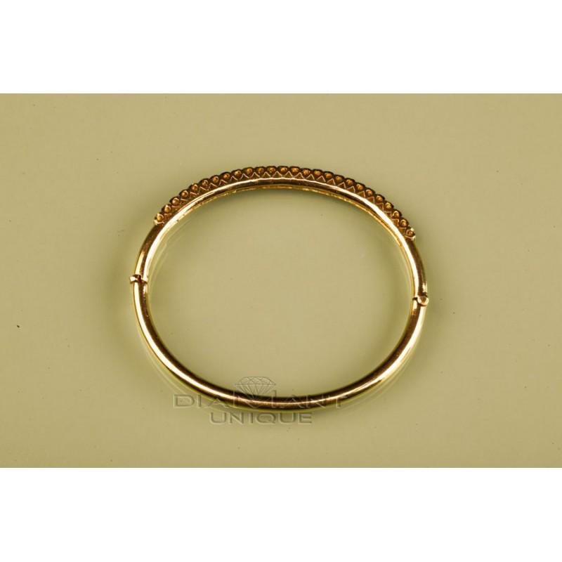 bracelets diamant classique o pour femmes bijouterie en ligne. Black Bedroom Furniture Sets. Home Design Ideas